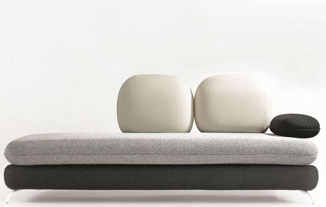 6 beaux coussins pour banquette bien dormir. Black Bedroom Furniture Sets. Home Design Ideas