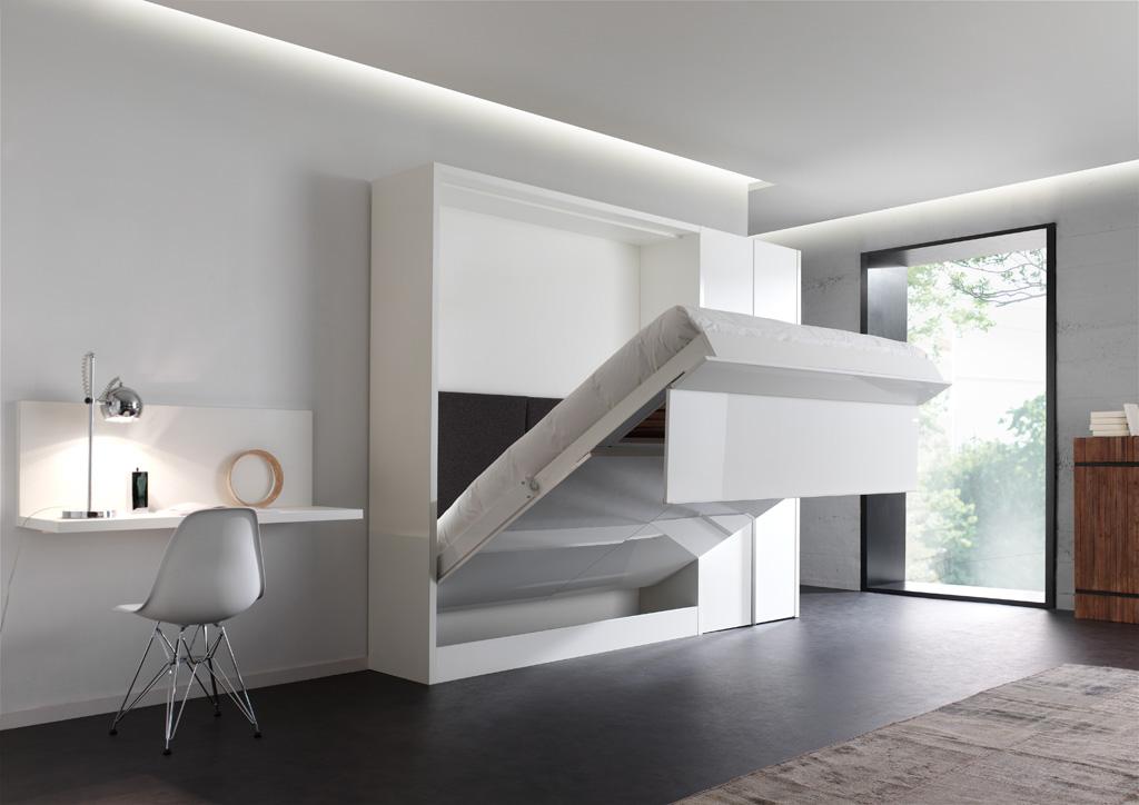 lit escamotable design bien dormir. Black Bedroom Furniture Sets. Home Design Ideas